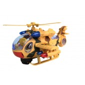 Battery Operated Battle Helicopter (Bump-N-Go)
