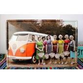 VW Vintage Tin Sign Vintage Metal Plate