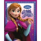 Frozen Anna Mini Poster On Wooden Board
