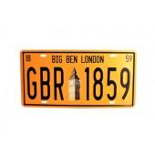 Big Ben London Wall Decoration Vintage Metal Plate