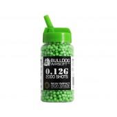 Bulldog 0.12G Green High Grade 2000 BB Pellets
