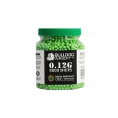 Bulldog 0.12G Green High Grade 5000 BB Pellets