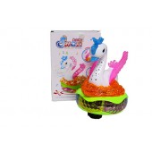 Battery Operated Cartoon Swan Toy (Bump-N-Go)