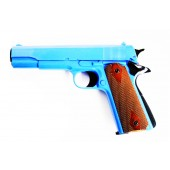 HG121 Gas Powered Airsoft BB Gun Pistol - Blue