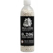 Bulldog 0.20G White High Grade 3000 BB Pellets