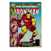 Iron Man Comic Picture Frame