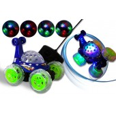 Turbo Monster RC Stunt Car with Flashing Lights