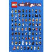 Lego Mini Figures Poster Picture Frame