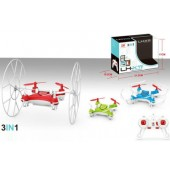 TW-X11 2.4GHz 4CH Mini RC Quadcopter Rolling/Flying Nano Drone with 6 Axis Built In Gyro