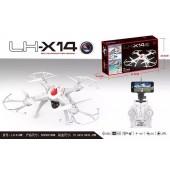 RC Drone LH-X14WF WiFi FPV Spy HD Camera 2.4Ghz 6-Axis Gyro UAV RTF Quadcopter