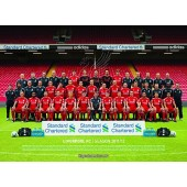 Official Liverpool 2013-2014 Football Club Picture Frame