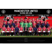 Official Manchester 2015-2016 Football Club Picture Frame