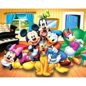 Mickey Mouse Group Picture Frame