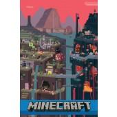 Minecraft World Picture Frame