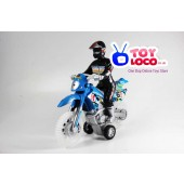 Modern Design Friction Dirt Bike Toy With Sound