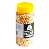 Bulldog BB Pellets 2000 Yellow x 6mm .12g BB