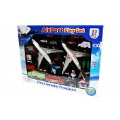 Aviation Aerodrome United Airlines Airport Playset
