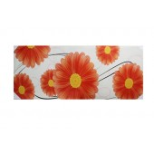 Orange Flower Canvas