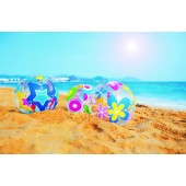 Colorful Inflatable Beach Ball: 20 INCHES