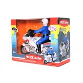 Battery Operated Police Motorcycle 866