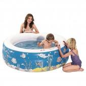 "Kids Outdoor Inflatable Water Doodle Pool - 60"" X 20"""