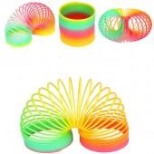 Rainbow Plastic Slinky