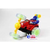 Battery Operated Robot Stunt Car With Light