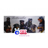 Rottweiler Collage canvas