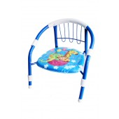 Kids Metal Chair With Squeaky Sound