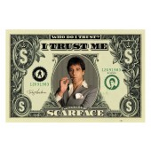 Alpachino Scarface Dollar Picture Frame