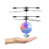 Flying Ball Infrared Induction Mini Aircraft Flashing Light Remote Toys For Kids