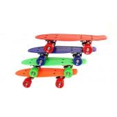 """Small Retro Penny Style Skateboard - Retro Deck 16.5"""" x 5"""""""