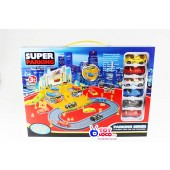 The Fast Super Parking Parking Play Toy Set