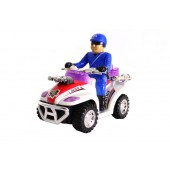 Battery Operated Police Motor Quad Bike