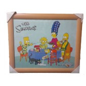 The Simpsons Picture Frame