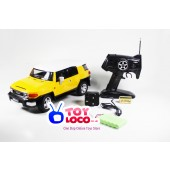 Licensed TOYOTA FJ Cruiser 1:12 Full Function Radio Control Car In Metal Case