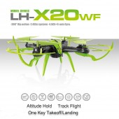 TW-X20WF Drone Quadcopter 4-CH 2.4GHz Remote Control with 6-Axis Gyro With Real Time Recording