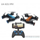 New Arrival TW-X21C 2.4G 6CH 6-Axis Gyro RC Quadcopter Car Drone with 0.3MP/2MP Camera