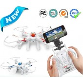 TW-X8CWF RC Quadcopter 2.4Ghz 4-Channels 6-axis Gyro Professional Drone - WIFI FPV - 3MP HD Camera