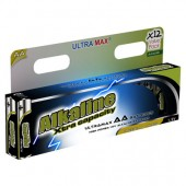 Ultramax AA LR6 Alkaline Batteries (12 pack)