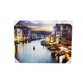 Beautiful Large Venice Canvas With LED Light