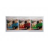 Cali 1 Collage VW Camper Van Canvas