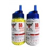 BB Pellets 2000 x 6mm 0.12g BB Airsoft Softair