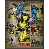 Wolverine Comic Picture Frame