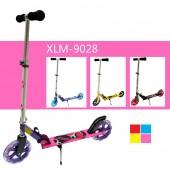 2 Big Wheel Adult Kid Push Kick Toy Ride + Wheel LED Light XLM9028