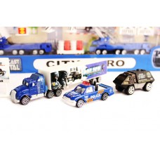 Diecast Police Playset